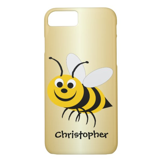 Bee Just Add Name iPhone 7 Case