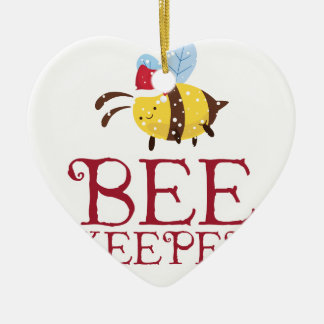 Bee Keeper Christmas Edition Christmas Ornament