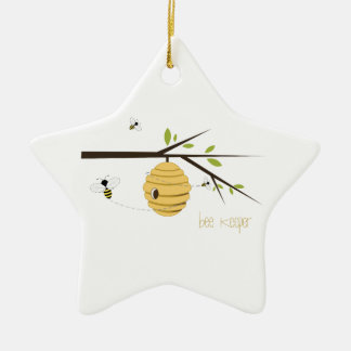Bee Keeper Christmas Ornament