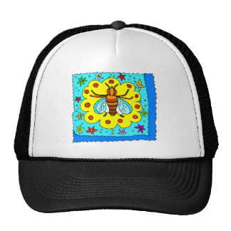 BEE KEEPER DESIGN MESH HATS