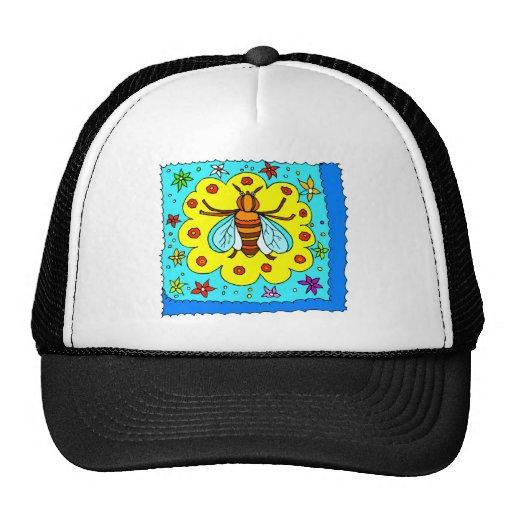 BEE KEEPER DESIGN MESH HATS