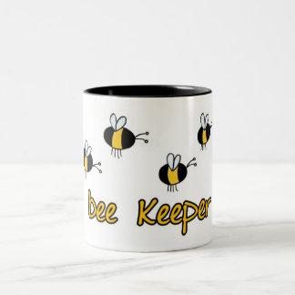 bee keeper Two-Tone mug