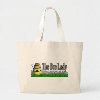 Bee Lady Jumbo Tote Bag