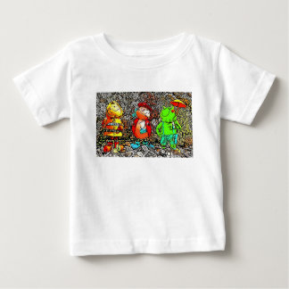 Bee Ladybird and Frog Kids T-Shirt