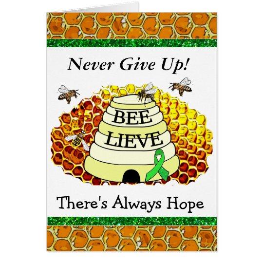 Bee-Lieve BVT Lyme Disease Awareness Card