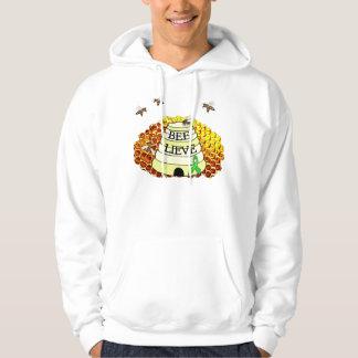 Bee-Lieve Honeycomb Lyme Disease Awareness Hoodie