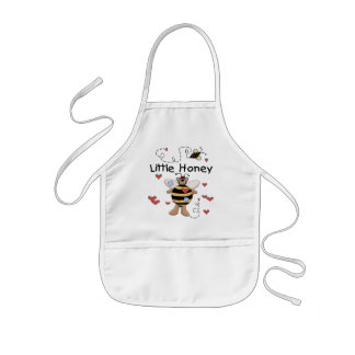Bee Little Honey t-shirts and Gifts Kids Apron