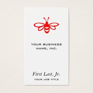 Bee [maraschino] business card