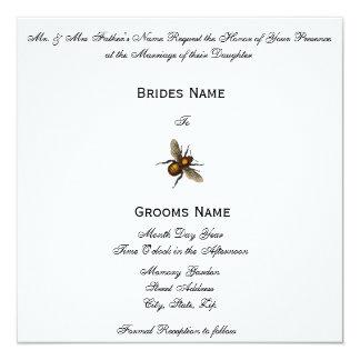 Bee-Mine 13 Cm X 13 Cm Square Invitation Card