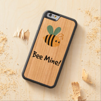Bee mine! carved® cherry iPhone 6 bumper