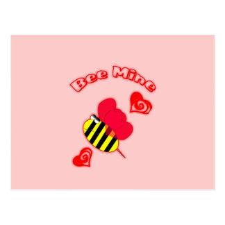 Bee Mine Postcard