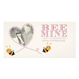 Bee Mine Valentine's Day Photo Cards