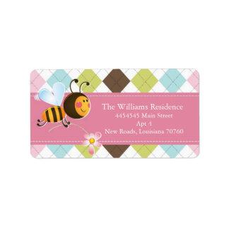 Bee Mine | Valentine's Day (Today's Best Award) Label