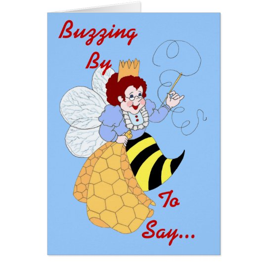 Bee Muse Me Note Card