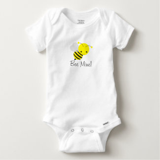 Bee My Valentine Baby Boy or Girl Bumblebee Baby Onesie