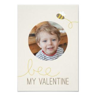 Bee My Valentine Classroom Valentine 9 Cm X 13 Cm Invitation Card