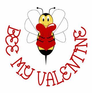 Bee My Valentine Ornament Photo Sculptures