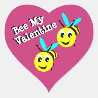 Bee My Valentine Sticker