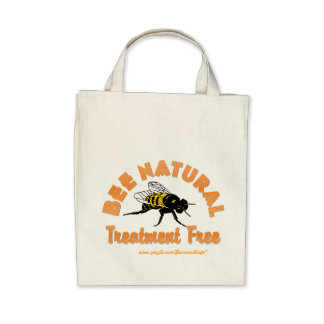Bee Natural Treatment Free Canvas Bags
