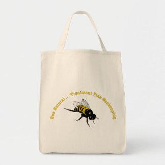Bee Natural ... Treatment Free Beekeeping Tote Bags