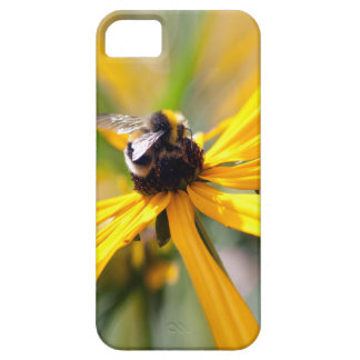 Bee - nectar yellow daisey iphone case