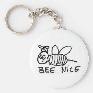 Bee Nice Key Chains