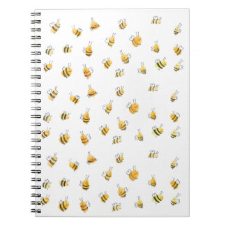Bee Note Pad Notebook