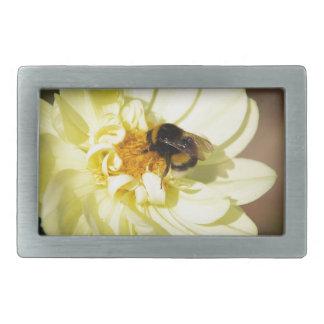 Bee on Flower Belt Buckles