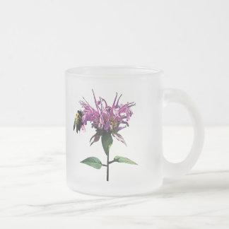 Bee on Lavender Bee Balm Coffee Mugs
