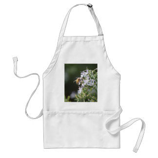 Bee on Rosemary Plant Apron