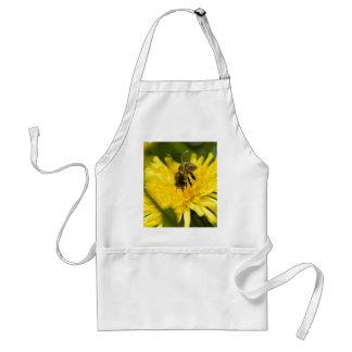 Bee On Yellow Flower Standard Apron