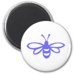 Bee [orchid] refrigerator magnet
