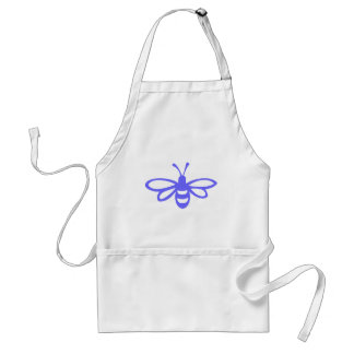 Bee [orchid] standard apron