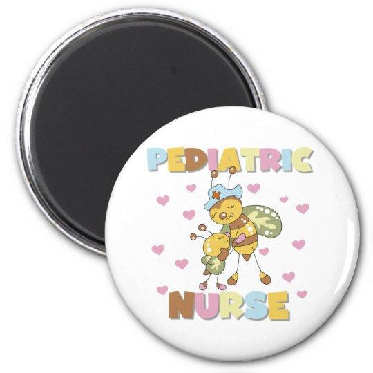 Bee Paediatrics Nurse 6 Cm Round Magnet
