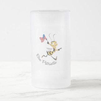 Bee Patriotic Coffee Mugs
