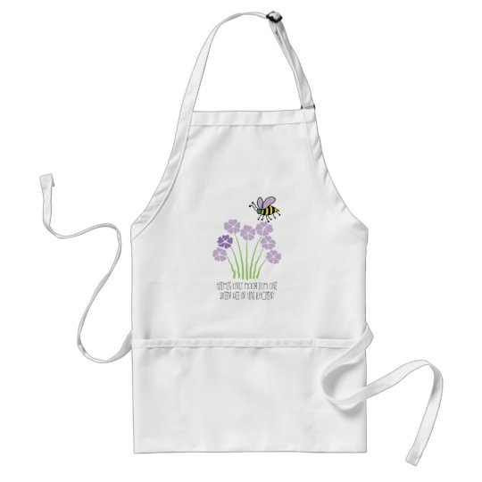 Bee Queenbee Honeybee Bumblebee - apron