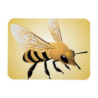Bee Rectangular Photo Magnet