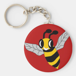 Bee Rescued Key Ring