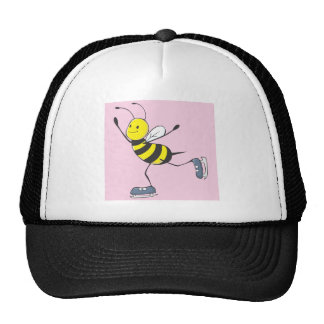 Bee Shirt | Custom Bee Ice Skating Shirt Mesh Hats