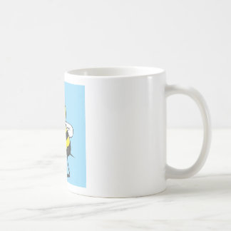 Bee Shirt | Custom Bee Pointing Showing Something Coffee Mug