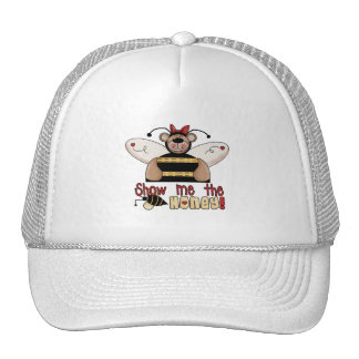 Bee Show Me the Honey Tshirts and Gifts Mesh Hat