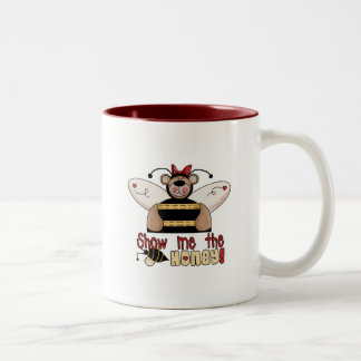 Bee Show Me the Honey Tshirts and Gifts Mugs