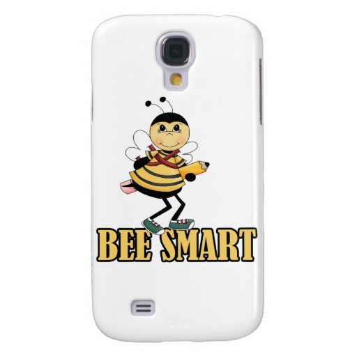 bee smart bumble bee with pencil galaxy s4 cover