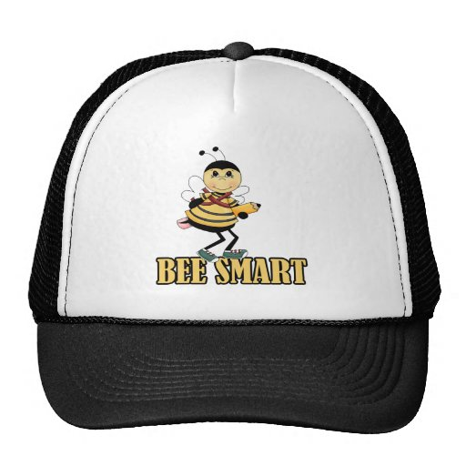 bee smart bumble bee with pencil hat