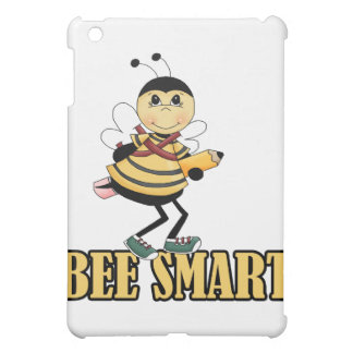 bee smart bumble bee with pencil iPad mini cover