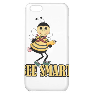 bee smart bumble bee with pencil iPhone 5C cases