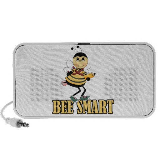 bee smart bumble bee with pencil speakers