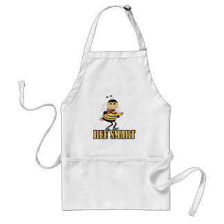 bee smart bumble bee with pencil standard apron