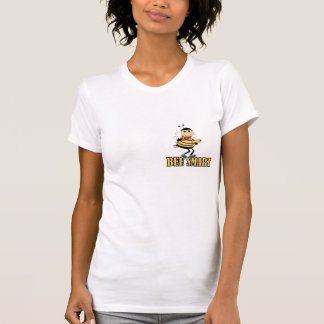 bee smart bumble bee with pencil tshirt