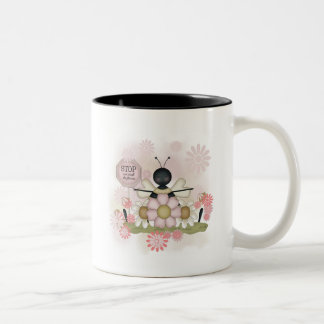 Bee Smell the Flowers Tshirts and Gifts Mugs